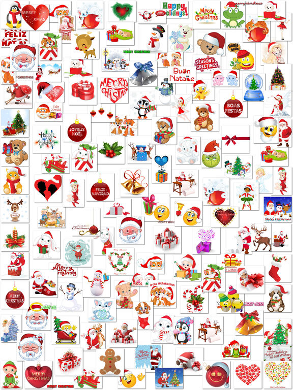 Sweet Christmas Stickers for iMessage screenshot 6