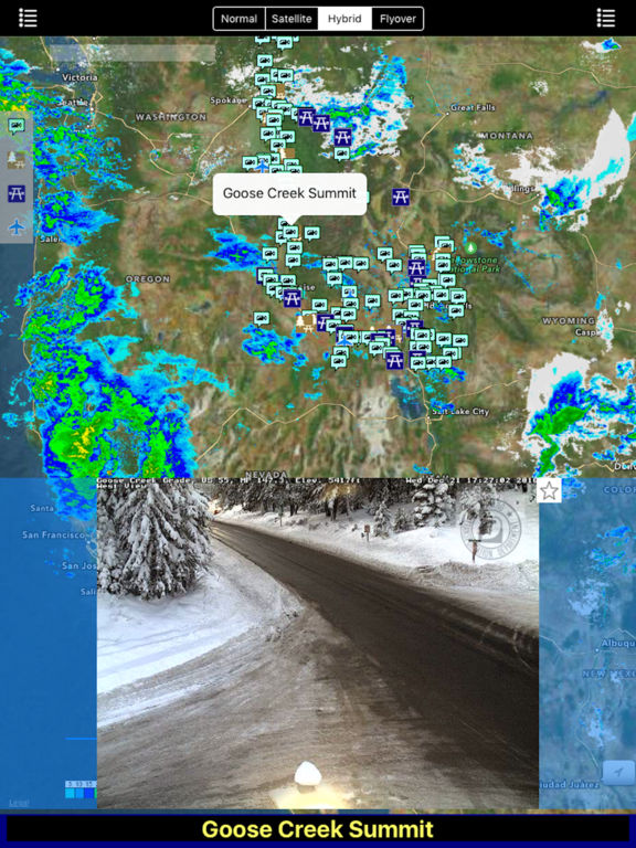 Idaho NOAA Radar with Traffic Cameras Pro screenshot 6
