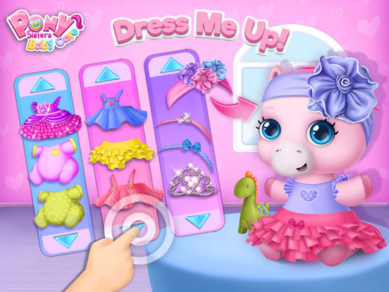 Pony Sisters Baby Horse Care - No Ads screenshot 9