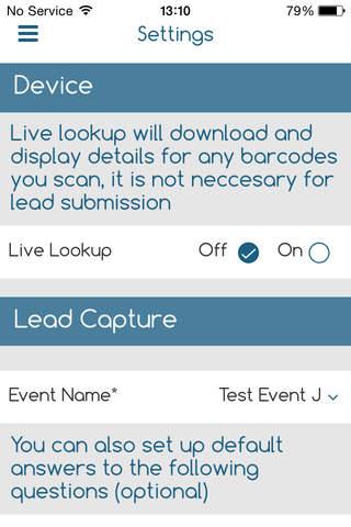 QRS Data Capture - náhled