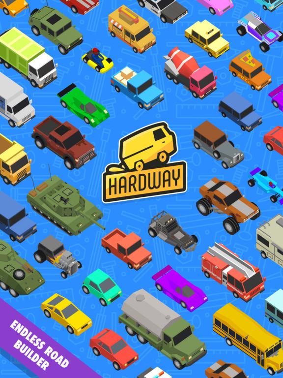 Hardway - Endless Road Builder screenshot 10