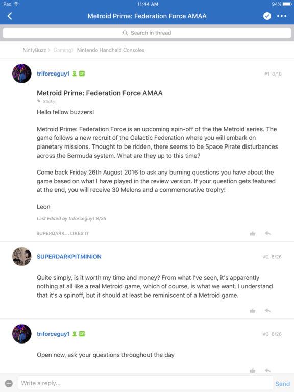 NintyBuzz Forums screenshot 5