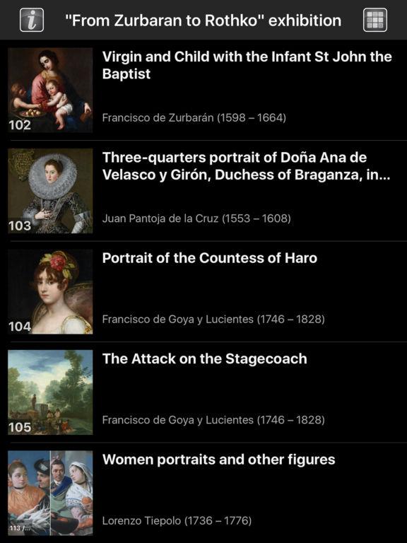 From Zurbarán to Rothko screenshot 7