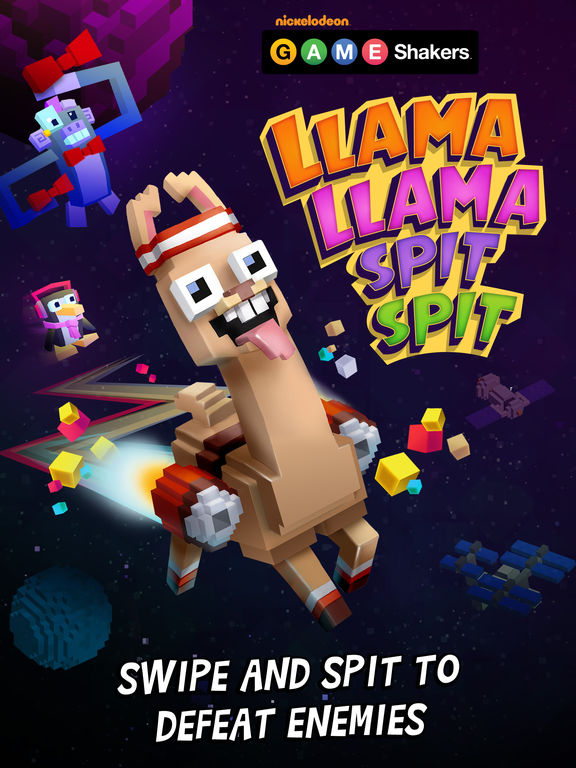 Llama Spit Spit - a GAME SHAKERS App screenshot 10