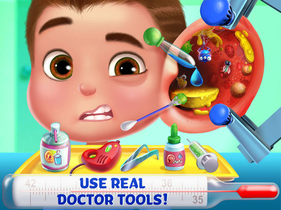 Kids Emergency Doctor - Stay in Bed screenshot 8