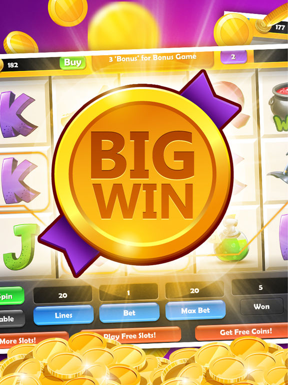 Wizard Slot Machine - Win 777 Double Gold Casino screenshot 6