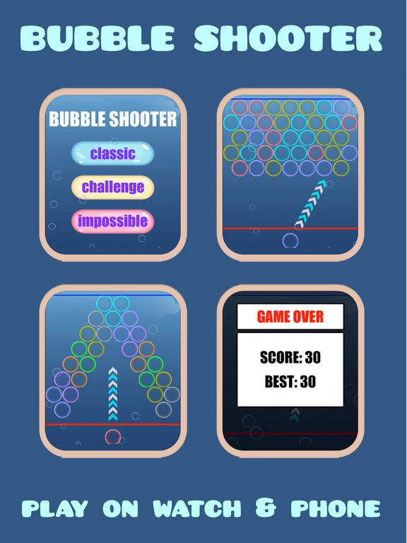 Bubble Shooter (Watch & Phone) screenshot 5