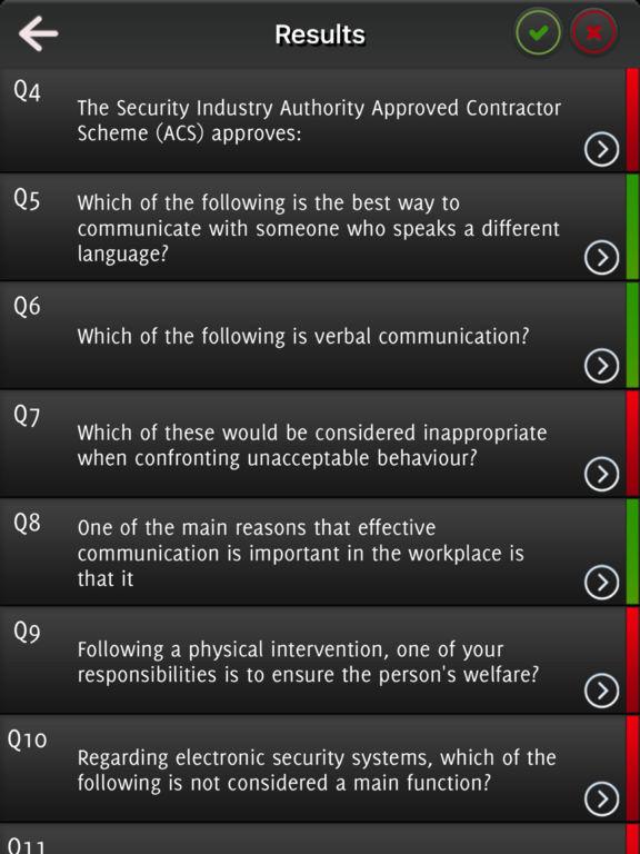 SIA Practice Exams - Mock test 2017 screenshot 7
