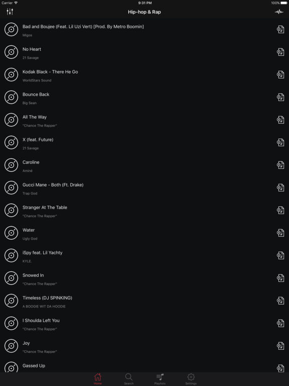 Music Player - Streamer & Music Playlist Manager screenshot 6