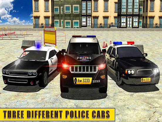 Epic Police High-way Car : Real Stunt Par-king 3D screenshot 5