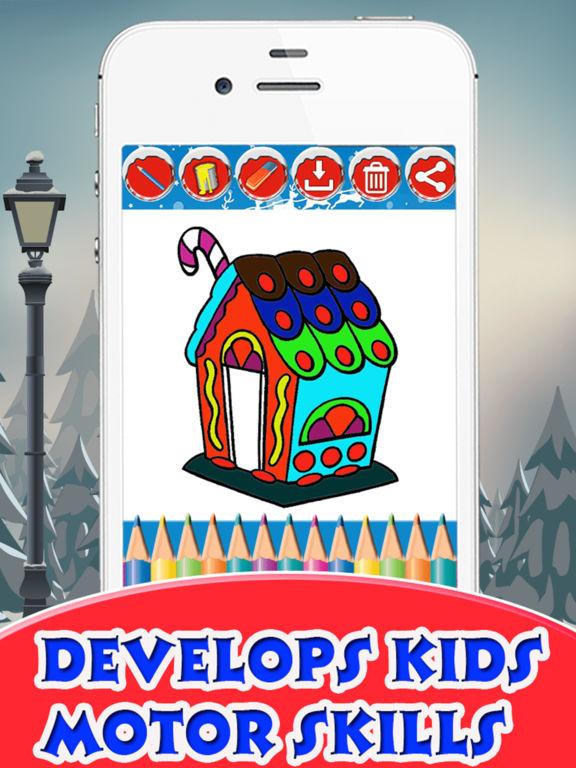 Christmas House Coloring Book screenshot 8