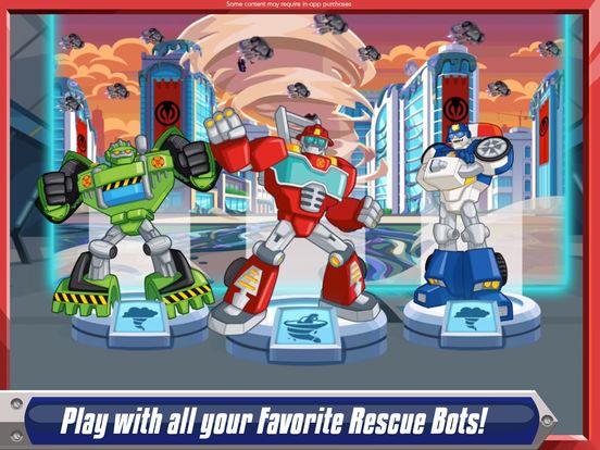 Transformers Rescue Bots: Dash screenshot 6