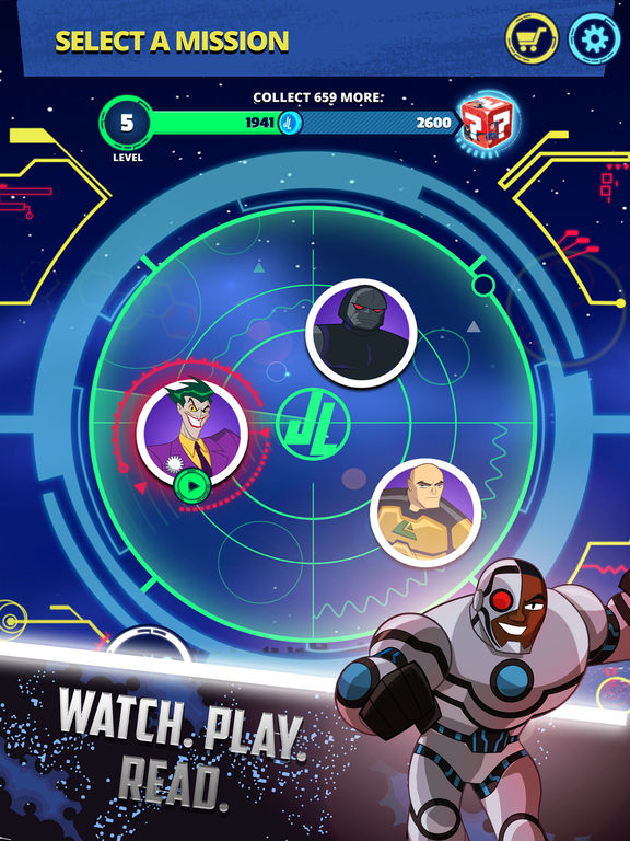 Justice League Action Run screenshot 6