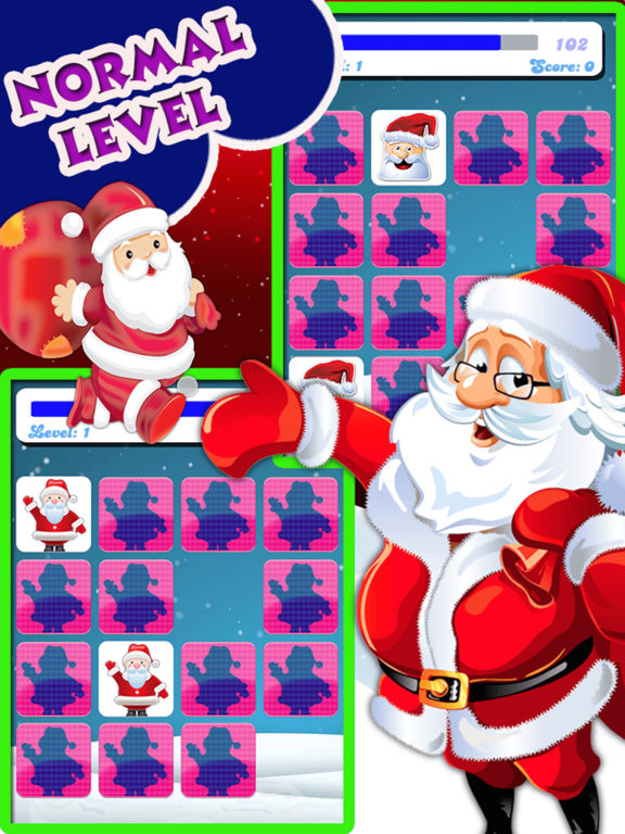 Christmas Matching Pairs : Find all the matching screenshot 8
