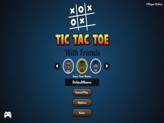 Tic Tac Toe (with friends) screenshot 8