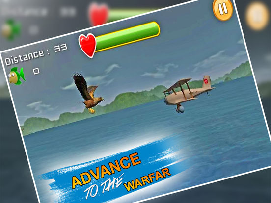 VR Wild Eagle Strike : Real Ocean Fish Attack screenshot 4