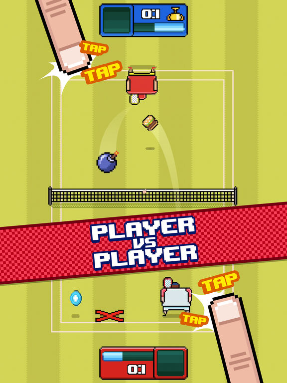 Timber Tennis screenshot 7