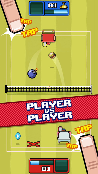 Timber Tennis screenshot 2