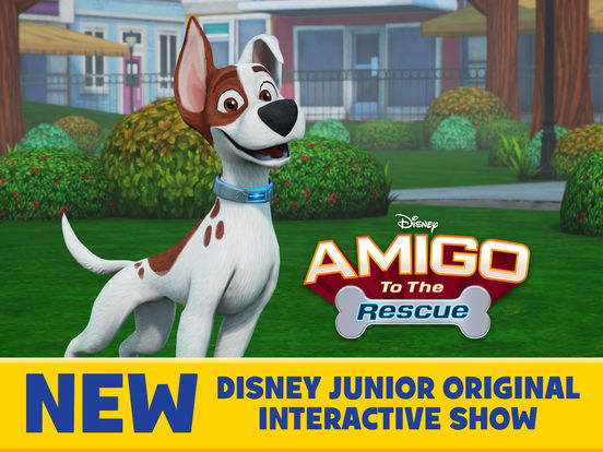 Amigo to the Rescue-Disney Junior Interactive Show screenshot 1