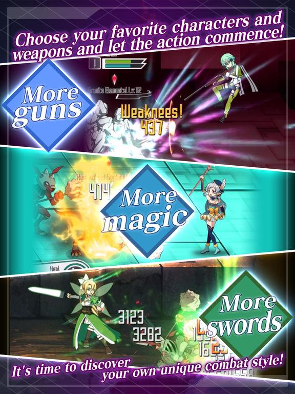 SWORD ART ONLINE:Memory Defrag screenshot 8