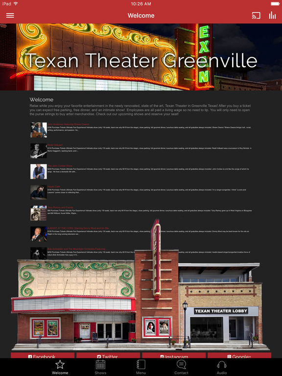 Texan Theater screenshot 4