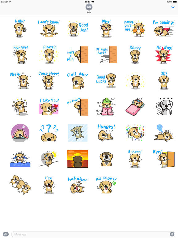 Adorable Puppy Stickers screenshot 4