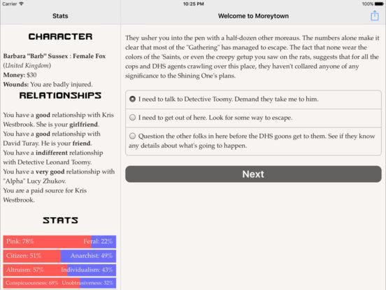 Welcome to Moreytown screenshot 10