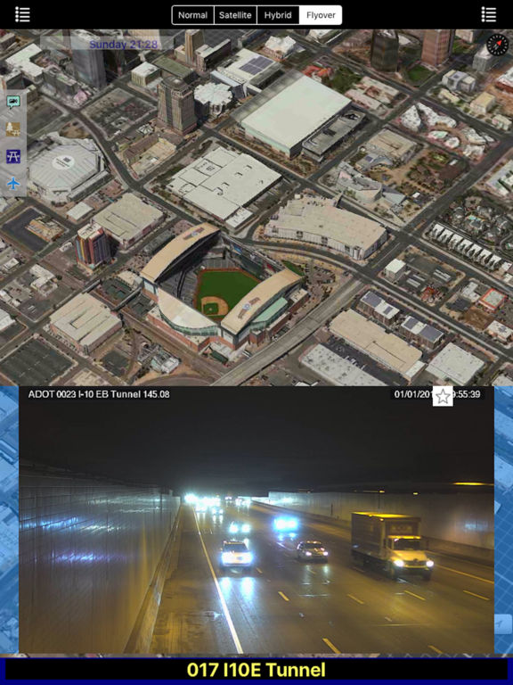 Arizona NOAA Radar with Traffic Camera 3D screenshot 5