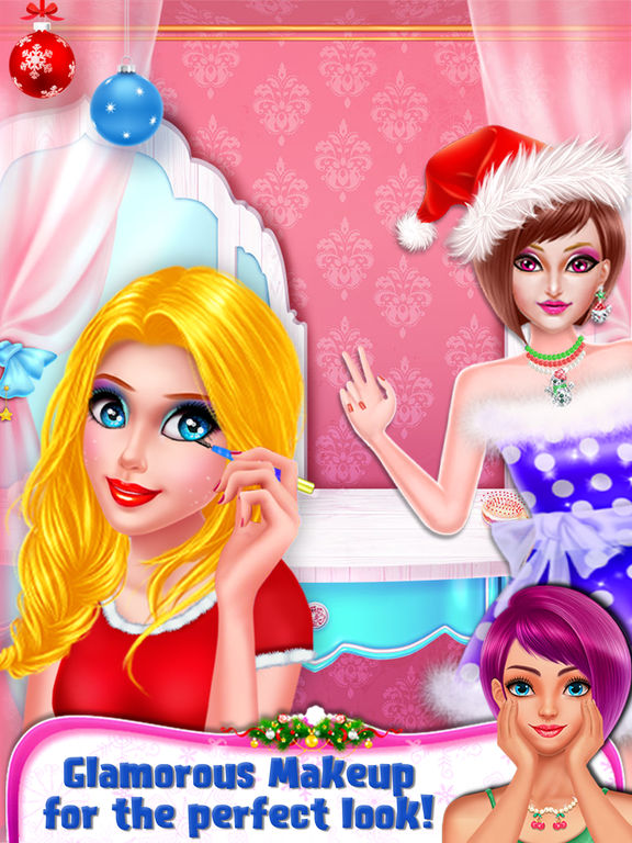 Christmas Girl Party Makeover screenshot 7