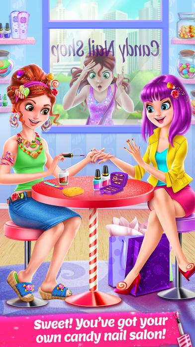 Candy Nail Art - Sweet Spa Fashion Game screenshot 1