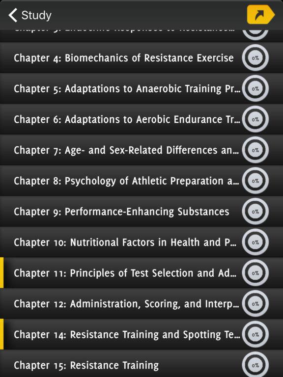 CSCS Strength Exam Prep screenshot 6