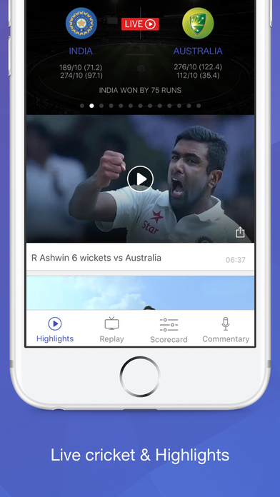 app to connect iphone to tv willow tv live cricket amp highlights on the app 18287