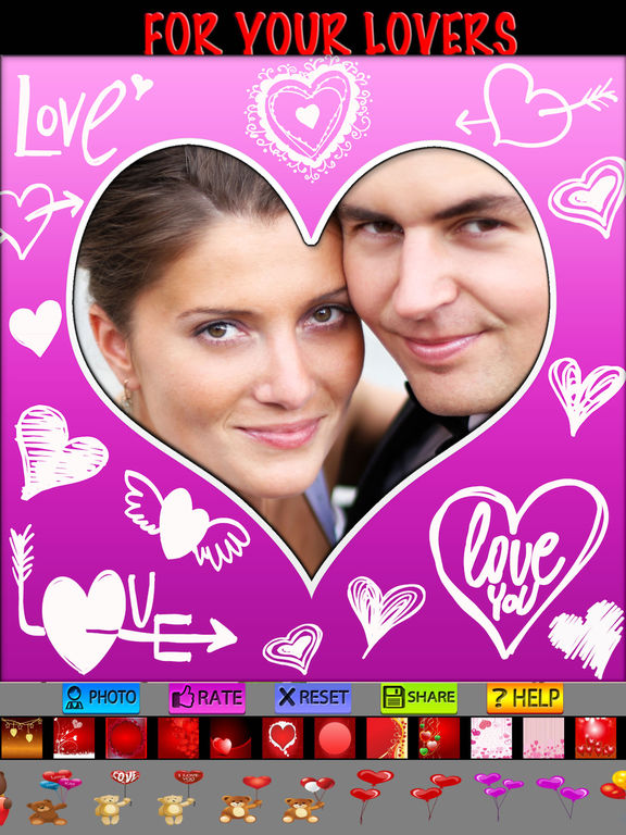 Love Frames and Text screenshot 6