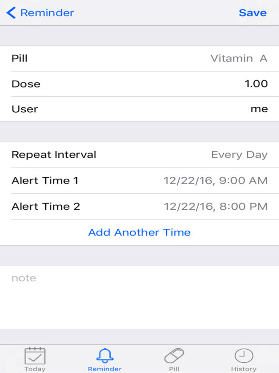 Daily Med Pill Reminder Alarm screenshot 6