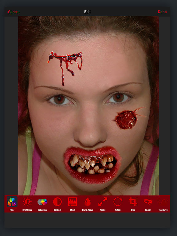 Horror PHOTOLAB Gold screenshot 8
