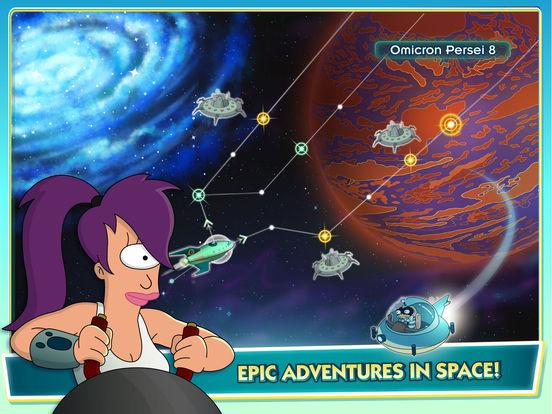 Futurama: Worlds of Tomorrow screenshot 10
