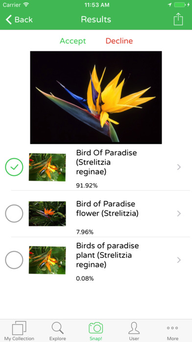PlantSnap - Identify plants in a snap! screenshot #1