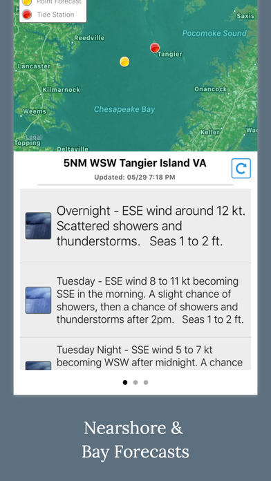 NOAA 5-day Marine Forecast screenshot 3