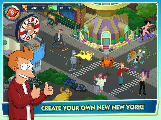 Futurama: Worlds of Tomorrow screenshot 6