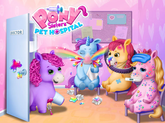 Pony Sisters Pet Hospital - No Ads screenshot 6