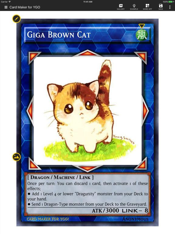 Card Maker Creator for YugiOh screenshot 6