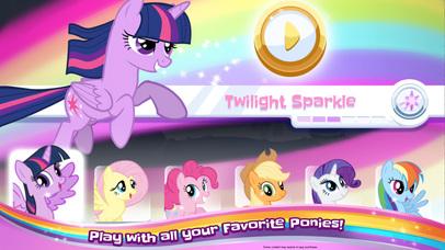 My Little Pony Rainbow Runners screenshot 2