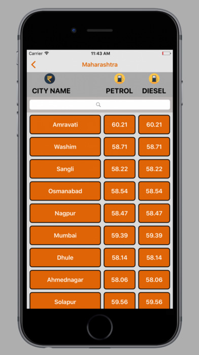 Petrol Diesel Rate Live screenshot 5