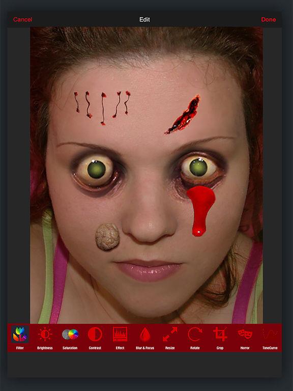 Horror PHOTOLAB Gold screenshot 10