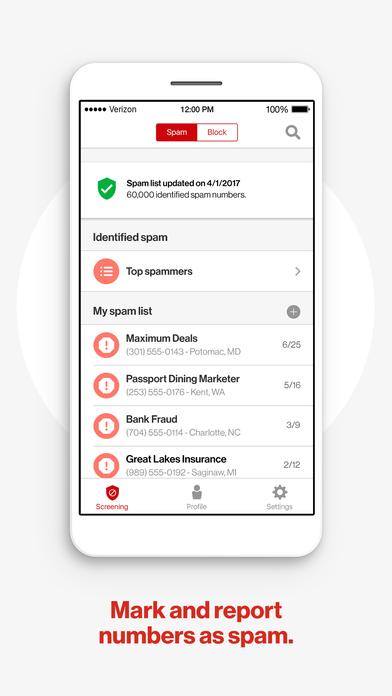 Verizon Call Filter screenshot 4