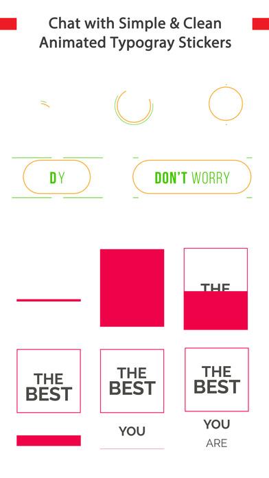 TypoChat -Minimal Animated Typography Chat Message screenshot 4