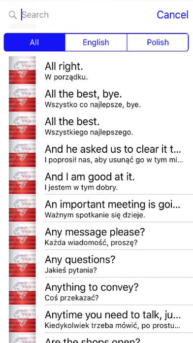 Polish Phrases Diamond 4K Edition screenshot 1