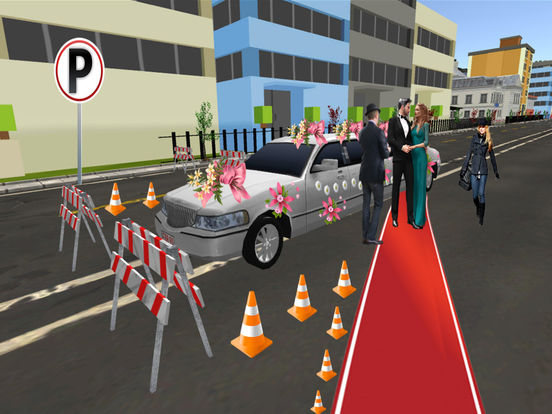 Limo Wedding Transport with Luxurious Parking screenshot 6