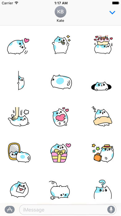 An Obese Cat Stickers screenshot 1