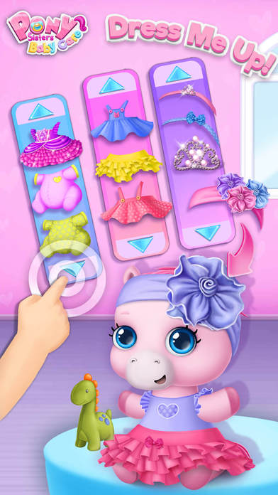 Pony Sisters Baby Horse Care - Babysitter Daycare screenshot 4